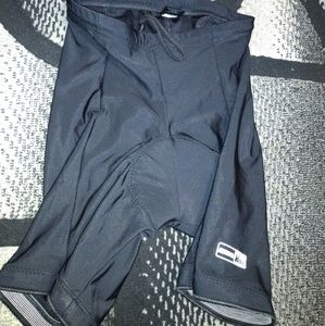 WOMENS REI BLACK CYCLING PADDED COMPRESSION Medium